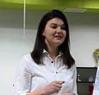 Inga Țarelea Vice presedinte membri