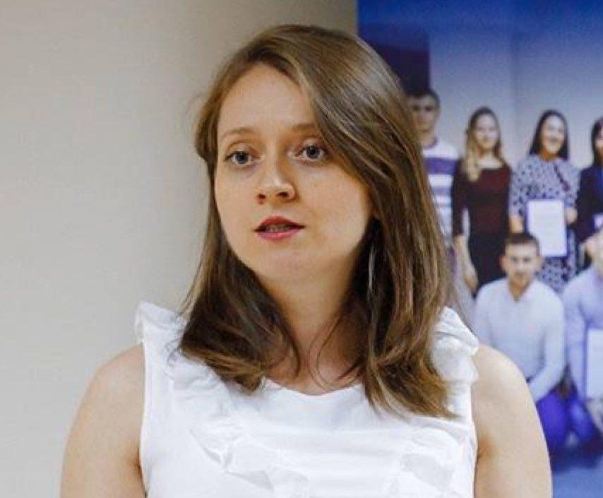 Viorelia Dercaci Vicepresedinde Educație